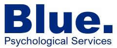Blue. Psychological Services